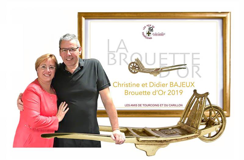 Lundi 2 décembre : BROUETTE D'OR à Christine et Didier BAJEUX